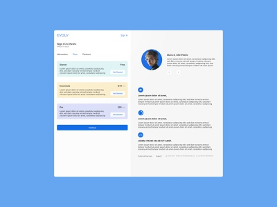 Evolv Design onboarding