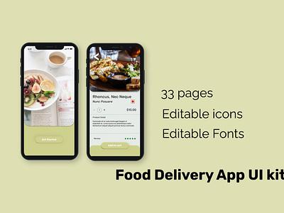food delivery app ui design ui design ui kit ui ux ui food delivery app