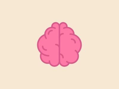 Brain Icon vector ux ui illustrator brain medical minimal icons graphic design icon design icon