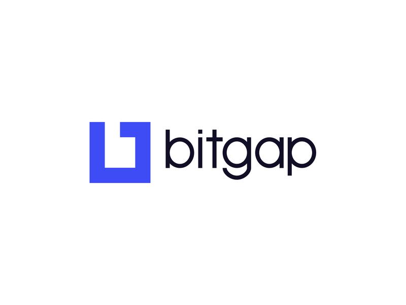 Bitgap Logo bit design icon branding icon design developer development logo design logo