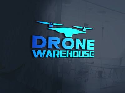 Drone WareHouse vector illustration graphicdesign design logo corporate identity buisnesslogo branding branding and identity