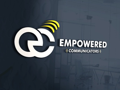 EMPOWERED COMMUNICATIORS design logo corporate identity buisnesslogo branding branding and identity