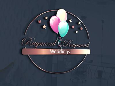 Raymond Raymond Weddings graphicdesign design logo corporate identity buisnesslogo branding branding and identity