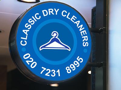 Classic Dry Cleaners graphicdesign design logo corporate identity buisnesslogo branding branding and identity