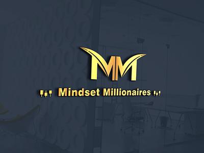 Mindset Millionaires guru.com fiverr upwork freelancing logo design corporate identity branding logo business logo design crypto logo mindset