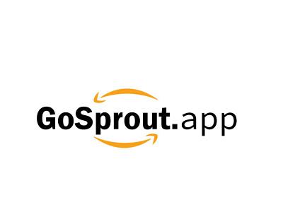 GoSprout.App graphic design branding corporate logo business logo shopping logo online logo e commmerce logo