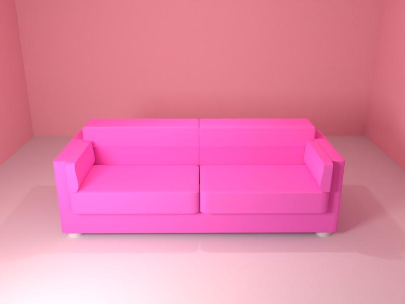 Sofa render blender 3d animation 3d sofa