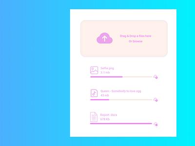 File upload daily ui dailyui ui design