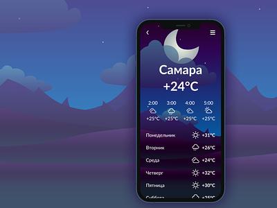 Weather app daily ui 037 dailyui037 daily ui app dailyui design