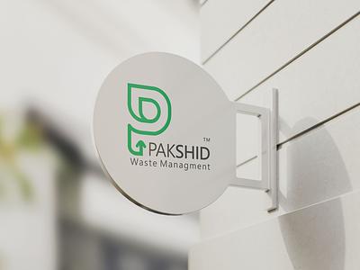 Pakshid logo design brand identity design logotype p monogram monogram signboard logo design