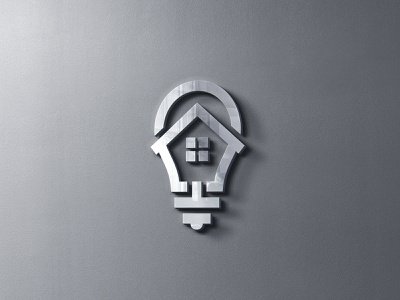 Home Idea House Logo Template logo design renovation property logo inspiration brand smart estate light bulb logo template smart home logo simple service concept logo logo idea logotype real estate house logo idea home home idea home logo