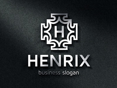 badge crest logo template henrix by djjeep design dribbble