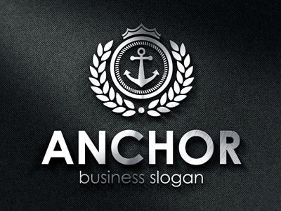 royal anchor crest logo by djjeep design dribbble