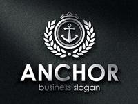 Royal Anchor Crest Logo
