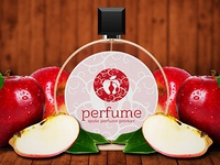 Apple Perfume Logo Template