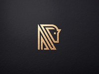 Horse Line Abstract Business Logo