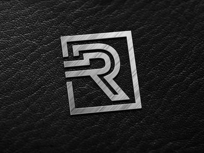 R Monogram Letter Logo