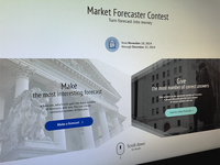 Market Forecaster Contest | Langing Page