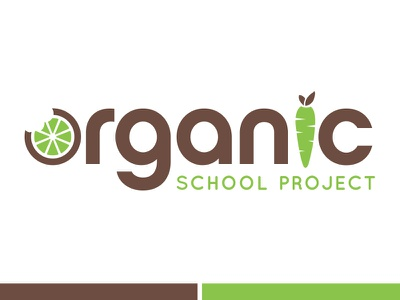 Non-profit logo concept non-profit organic food illustration logo