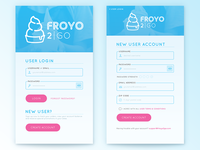 FroYo 2Go App Login/Signup