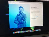 Josh Wilkerson portfolio site (coming soon)