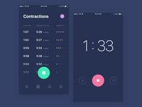 Contraction Timer App
