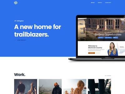 Portfolio Site Redesign (WIP) visual design website wip portfolio personal