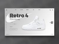 Retro 4 Pure Money