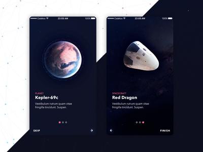 Free Space UI Kit - Walkthrough