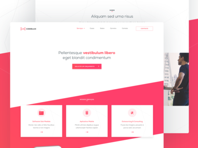 Codelux Home Page