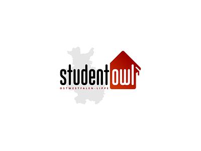 Student Owl type illustrator vector illustration minimal graphic design typography logo design branding