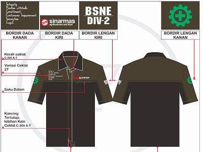 Desain Kemeja Seragam Kantor vector corel draw product design