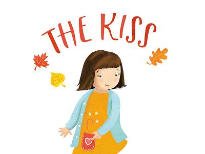 The Kiss in Her Pocket childhood childrens book childrensillustration illustration whimsical kidlitart kids books childrens books childrens illustration childrens book illustration