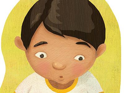 Kids' emotions spot illustrations multicultural childhood emotions childrens books kidlitart childrens book illustration education tweens kids children