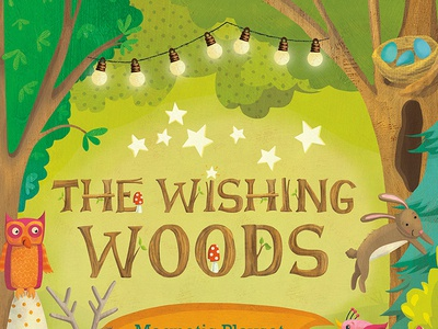 The Wishing Woods magnetic playset cover
