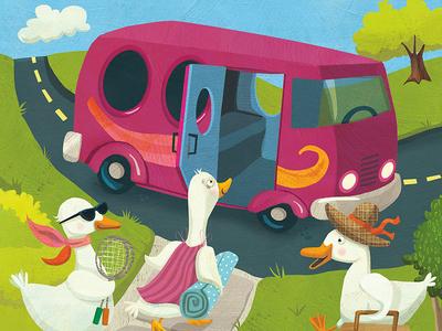 Duck adventure - for Sadlier Publishing