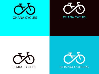 Bike design photoshop ai branding ads logo logodesign sample tamplate logodesign