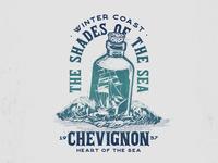 THE SHADES OF THE SEA colombia medellin shirt design sea illustration graphicdesign graphic design