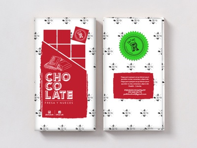 CHOCOLATE REAL brand graphic  design pattern package design milk chocolate bar