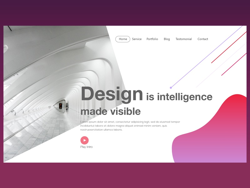 Header Exploration web exploration ux userinterface ui design header