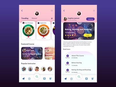 Cooking Learning App