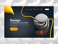 Design Agency Landing Page