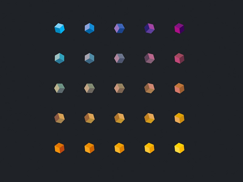 Polygons color css html