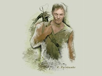 Norman Reedus as Daryl Dixon by K. Fairbanks