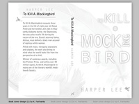 Mockingbird Book Cover Design By K. Fairbanks