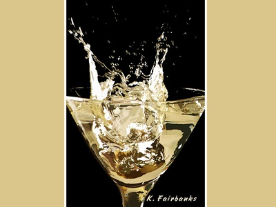 Cocktail By K Fairbanks ice cocktail digital art illustrator art vector