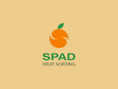 Spad fruit sorting - logo design