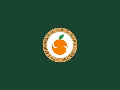 Spad fruit sorting logo design