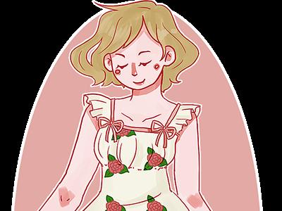Lolita art illustration