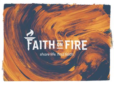 Faith on Fire brandmark